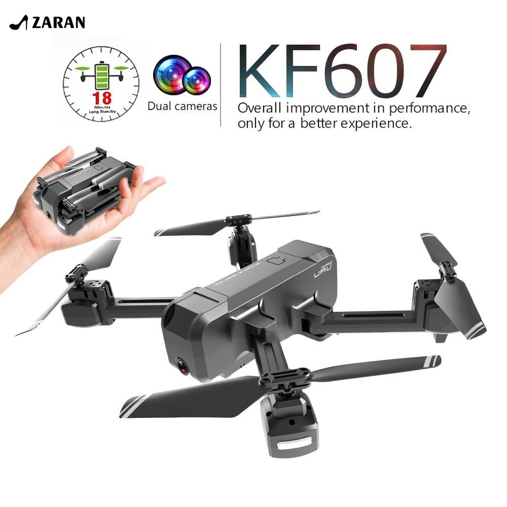 Flycam kết nối WIFI hỗ trợ quay phim chất lượng cao 4K HD KF607 kèm phụ kiện