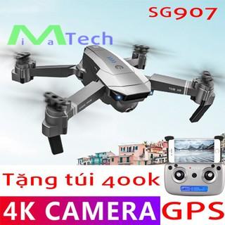 Yêu ThíchFlycam 4K SG907 GPS Camera Kép Tự Động Quay Về, Nhận Diện Khuôn Mặt, Chụp Ảnh Tự Động Tặng Túi Đựng Chuyên Dụng