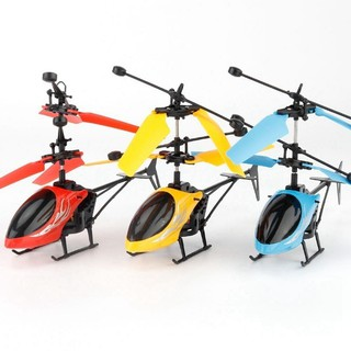 Helicopter toy with flashing lights for baby