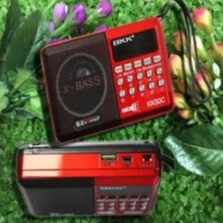 Đài Nghe Nhạc USB, Thẻ Nhớ, đài FM, Nghe Pháp BKK KK50C - Có Đèn Pin thumbnail
