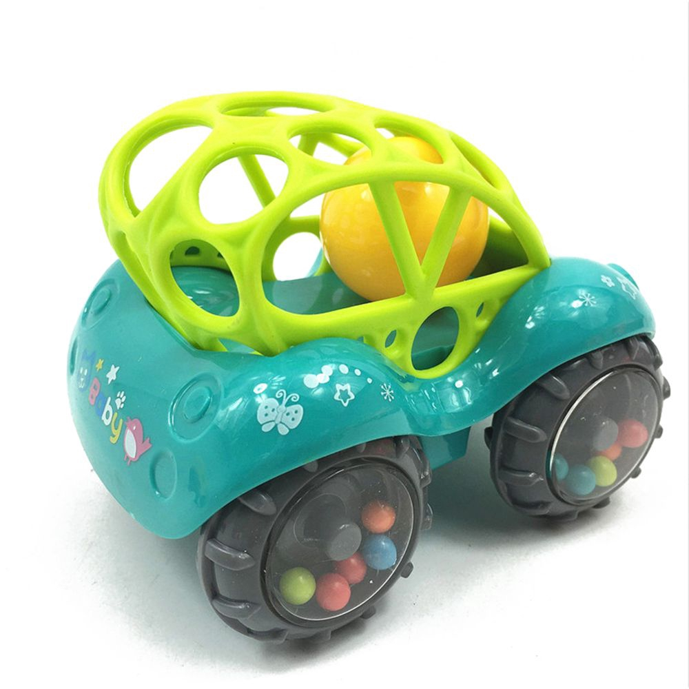 Gift Colorful Development No-toxic Educational Rattles Car
