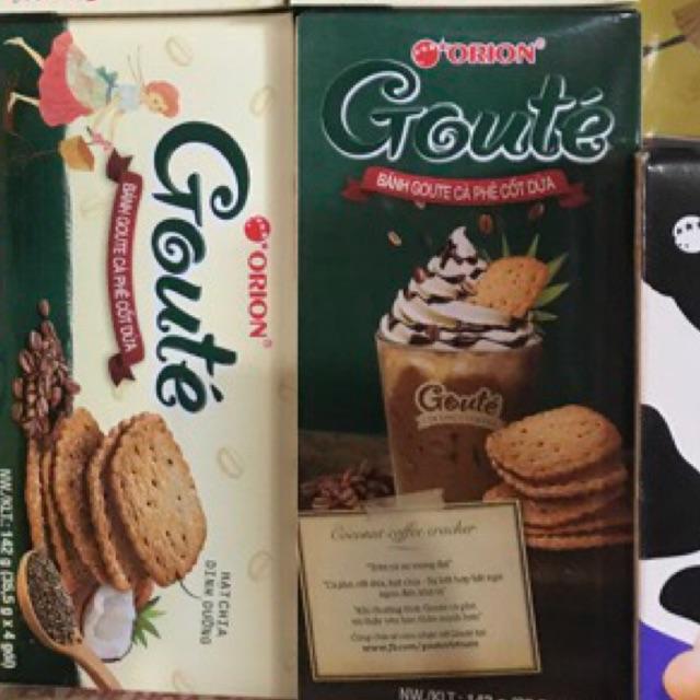 Bánh Goute cà phê cốt dừa hộp 142g (4 gói) - 10008280 , 1252759443 , 322_1252759443 , 24000 , Banh-Goute-ca-phe-cot-dua-hop-142g-4-goi-322_1252759443 , shopee.vn , Bánh Goute cà phê cốt dừa hộp 142g (4 gói)