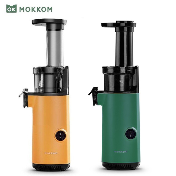 Máy ép trái cây tốc độ chậm, thương hiệu cao cấp Mokkom MK-SJ001: Công suất 130W - Bảo Hành 12 Tháng