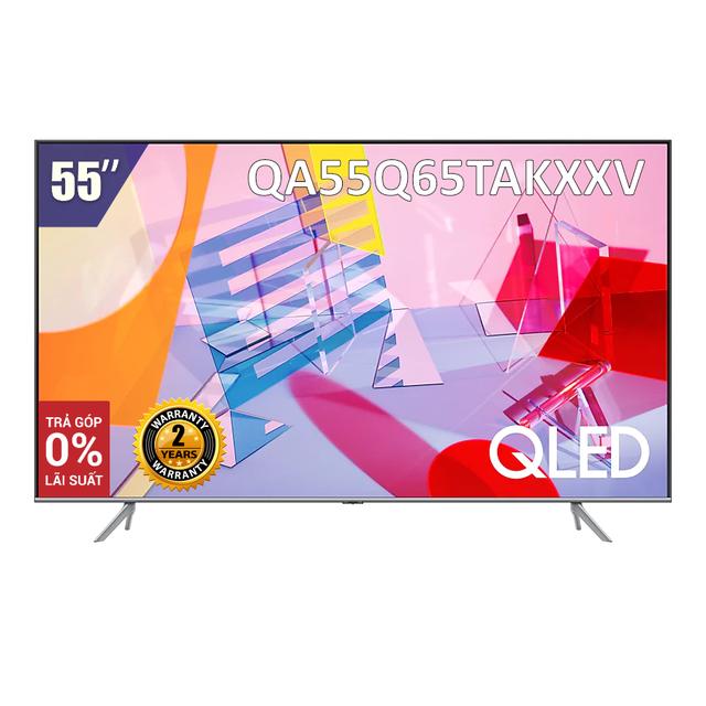 [Giao hàng tại TP.HCM] Smart Tivi Samsung 55 inch QLED 4K QA55Q65TAKXXV