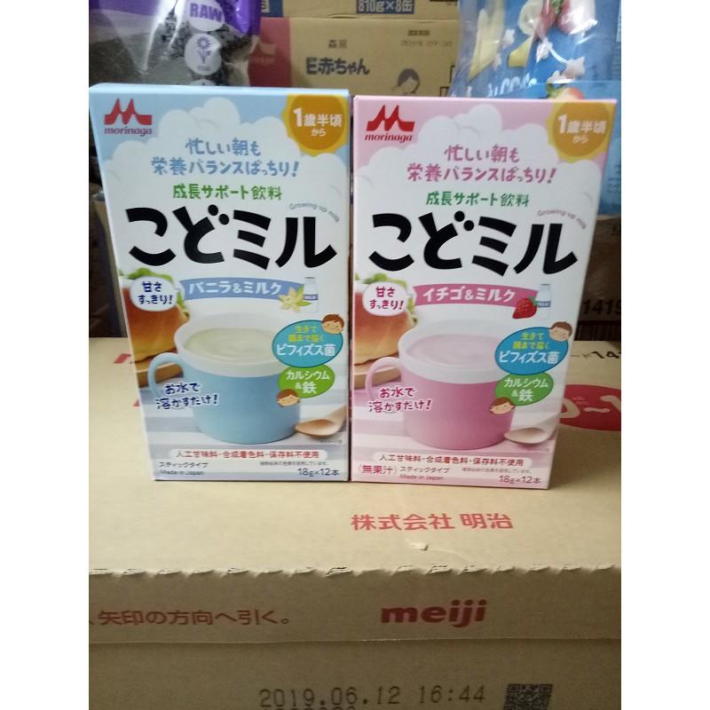 Sữa Morinaga Kodomil dinh dưỡng (hộp 12 thanh x 18g) nội địa Nhật (Date tháng 9/2019) - 3565635 , 1252768500 , 322_1252768500 , 179000 , Sua-Morinaga-Kodomil-dinh-duong-hop-12-thanh-x-18g-noi-dia-Nhat-Date-thang-9-2019-322_1252768500 , shopee.vn , Sữa Morinaga Kodomil dinh dưỡng (hộp 12 thanh x 18g) nội địa Nhật (Date tháng 9/2019)