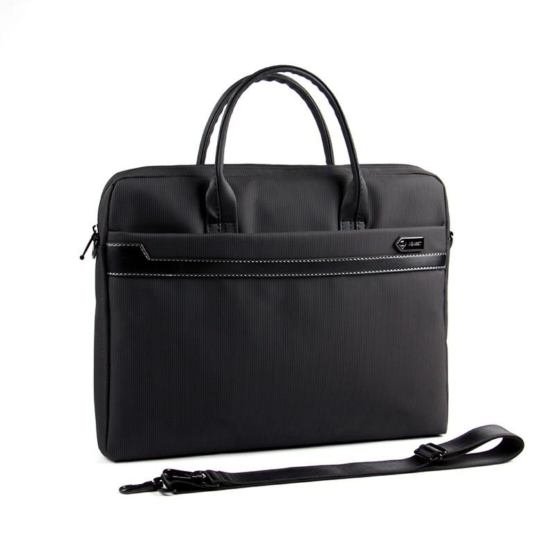 แนวตั้งกระเป๋าเอกสารแบบพกพาถุงซิป A4 กระเป๋าข้อมูลกระเป๋าเอกสารคอมพิวเตอร์ธุรกิจ