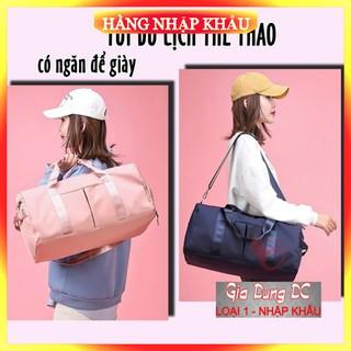 [Hàng Xịn – Loại 1] (Cỡ lớn) Túi trống du lịch thể thao cho nam nữ có nhiều ngăn để giầy đi chơi phượt cỡ lớn