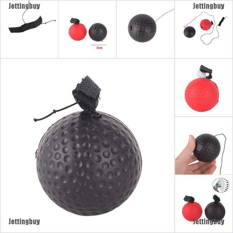 1PC Fighting Boxing Reflex Ball For Reflex Speed Training Boxing Punch Ball jelly