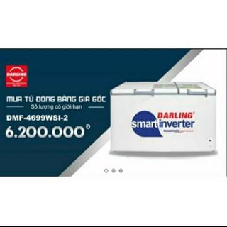 Tủ đông Darling 4699WSI-2 dung tích 470 lít