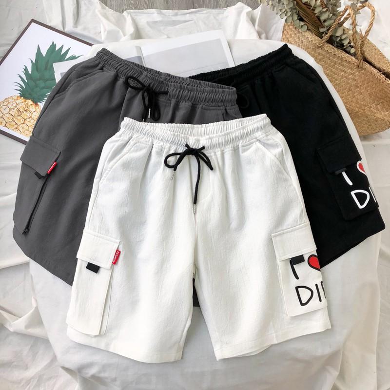 quần short ống rộng phong cách nhật bản dành cho nam