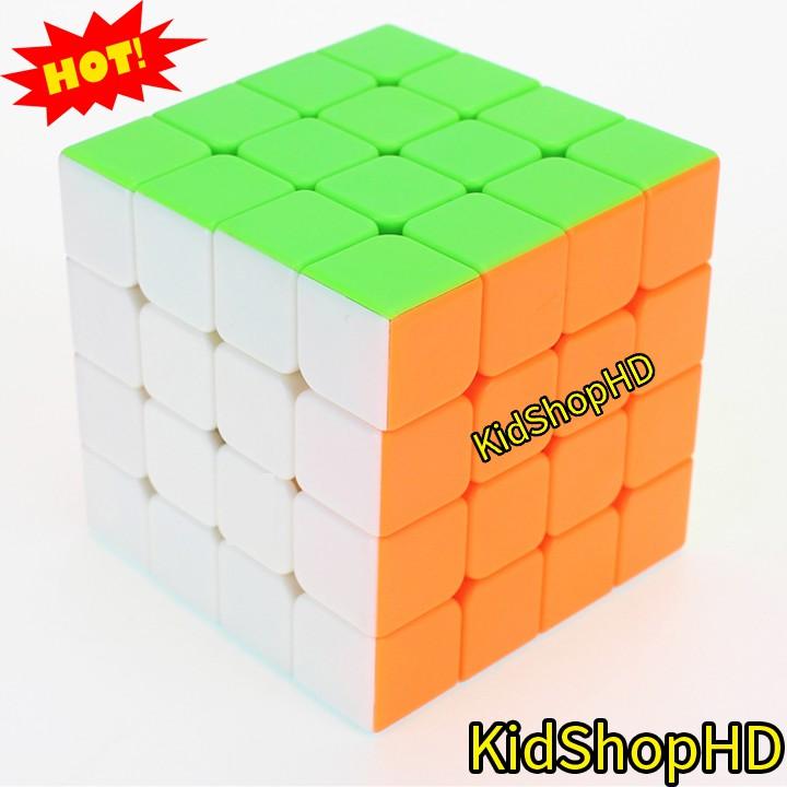Rubik 4x4x4 đẹp, xoay trơn, không rít. Rubik Rubik MoYu QiYi Cube Stickerless 4x4