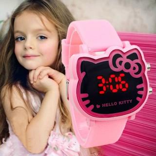 Hello Kitty waterproof Korean Children s led digital watch thumbnail