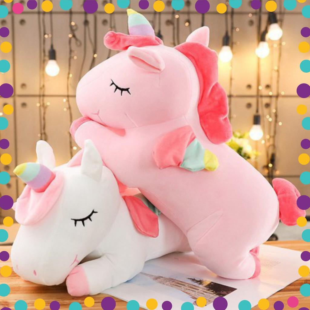 [FREESHIP] Gấu bông gối ôm ngựa kỳ lân ngựa pony vải co dãn 4 chiều hàng cao cấp