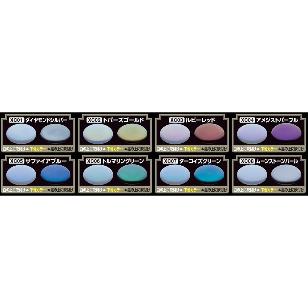 Sơn mô hình MR HOBBY – Mr Crystal Color (XC01~08)