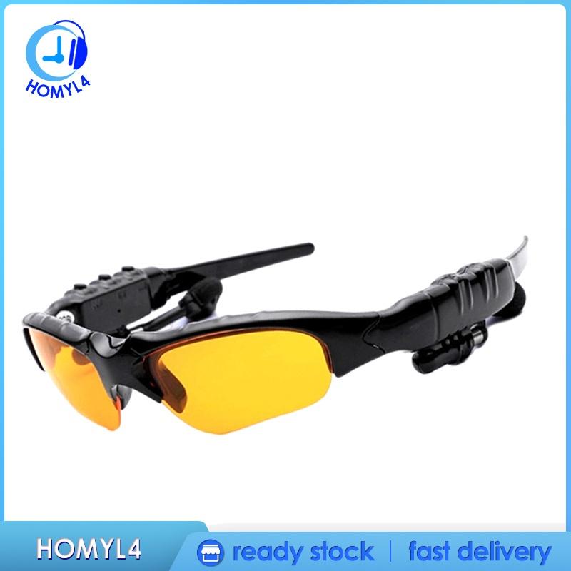 [CAMILA] Sports Bluetooth Sunglasses Polarized Glasses Stereo Headset Headphone for Men Eyewear