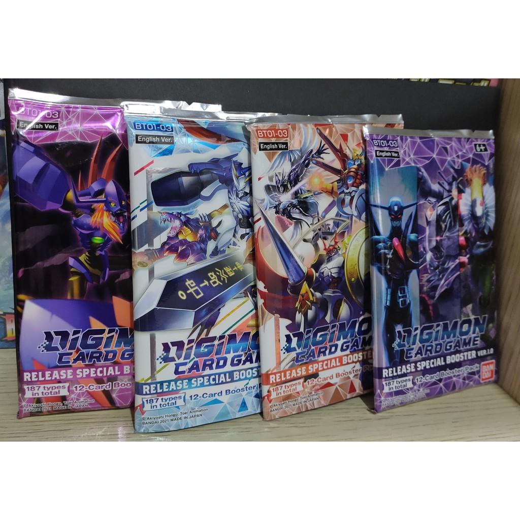 Gói bài Digimon phiên bản đặc biệt 1.0 (Chính hãng Bandai)