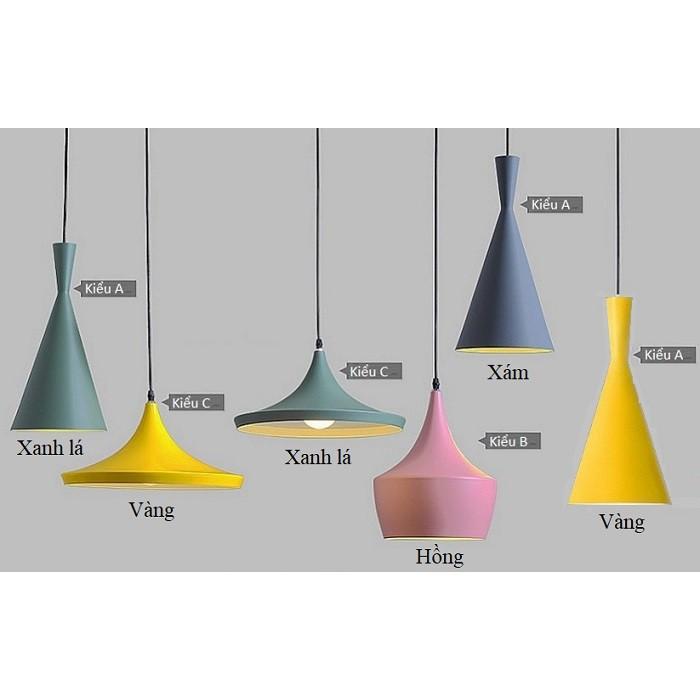Đèn thả trần kiểu dáng Bắc Âu, đèn thả bàn ăn, đèn trang trí