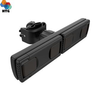 Giá đỡ kẹp điện thoại đôi gắn vào tripod, đèn livestream, gậy chụp hình, hỗ trợ livestream,live quay Video sản phẩm thumbnail