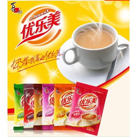 20 gói Trà sữa Đài Loan Uloveit 6 vị yêu thương