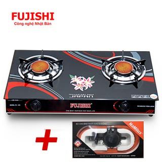 Combo Bếp gas hồng ngoại Fujishi FJ-H16-HN + Bộ dây van ngắt gas tự động Namilux