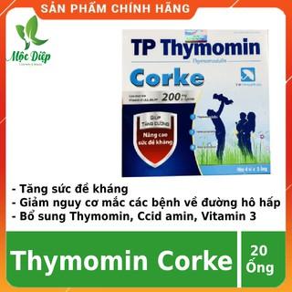 Siro tăng cường đề kháng cho bé CHÍNH HÃNG TP Thymomin Corke tăng đề kháng tăng cường tiêu hóa ăn ngon miệng thumbnail