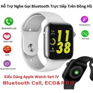 [Mẫu Mới] Đồng Hồ Thông Minh W34 Tiếng Việt Hỗ Trợ Nghe Gọi, Đồng Bộ Thông Báo Từ Điện Thoại Qua Bluetooth (I Watch 1:1)