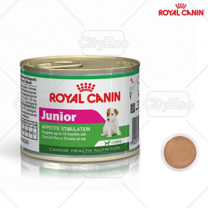 ROYAL CANIN JUNIOR - THỨC ĂN BỔ SUNG CHÓ TỪ 2 - 8 THÁNG TUỔI