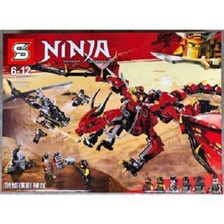 lego ninja 955 chi tiết phát triển toàn diện cho bé