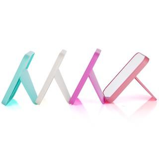 Gương Soi Để Bàn Trang Điểm Gấp Gọn - Gương Để Bàn Hình Chữ Nhật kiếng soi hình nhựa ABS