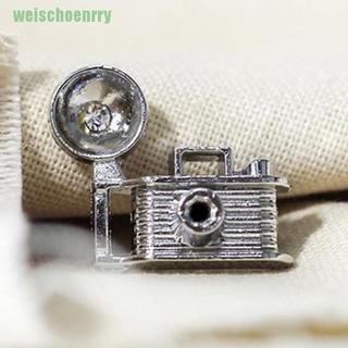 ♣1:12 Scene Model Doll House Accessories Creative Mini Retro Vintage Camera