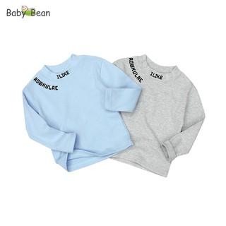 Áo Thun Cotton tay dài Bo Gân thời trang Thu Đông bé trai BabyBean (8kg - 20kg) thumbnail