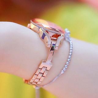 Đồng hồ nữ BEE SISTER BS02 mặt vát cạnh tuyệt đẹp
