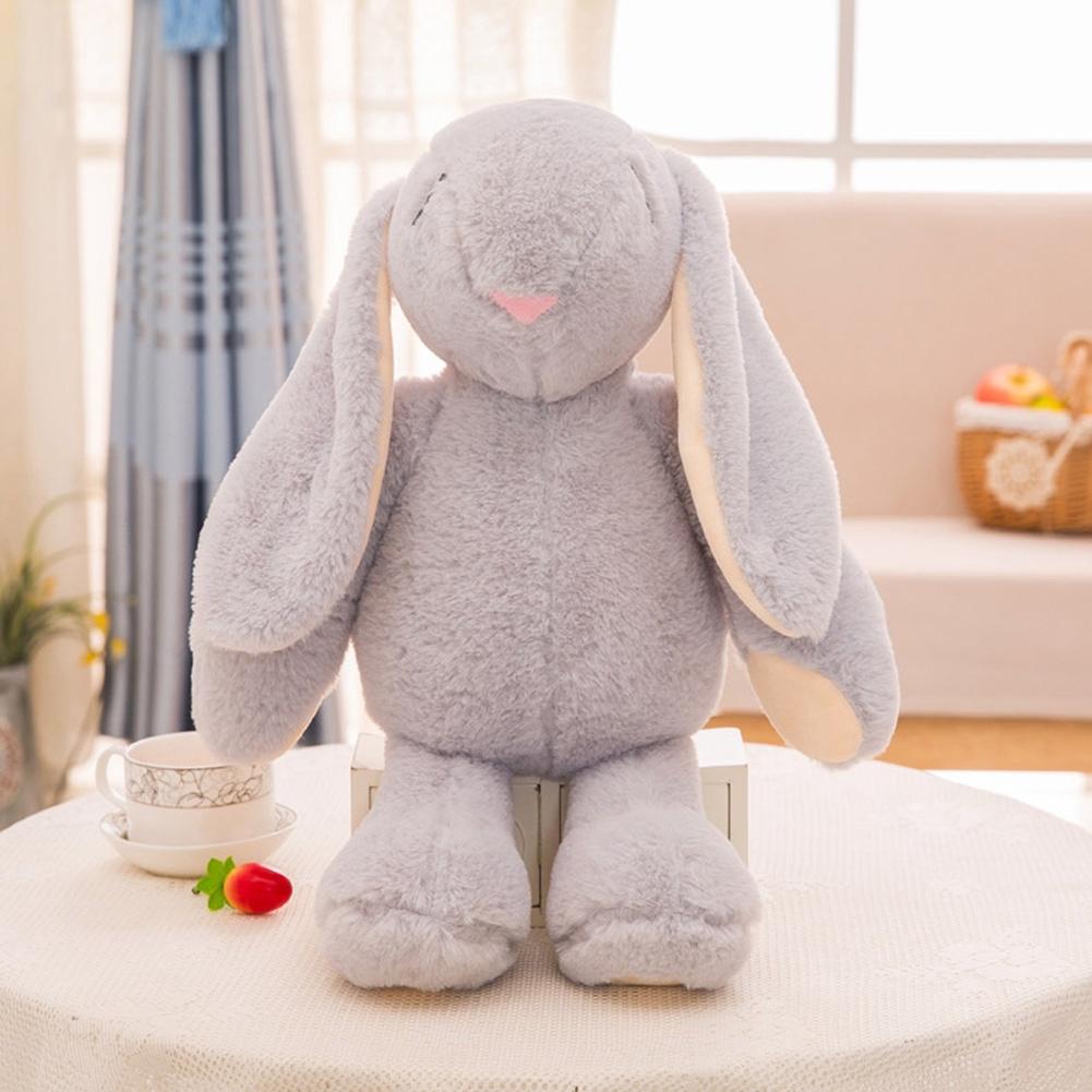 Animal Soft Stuffed Baby Kids Gift Toys Sleeping Rabbit Cute Cartoon Plush Doll