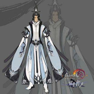 Costume COSPLAY JX3 Thuần dương nam tuyết hà
