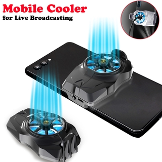 New Mobile Cooler for Live Broadcast Mobile Game Radiator Portable Cooling Fan