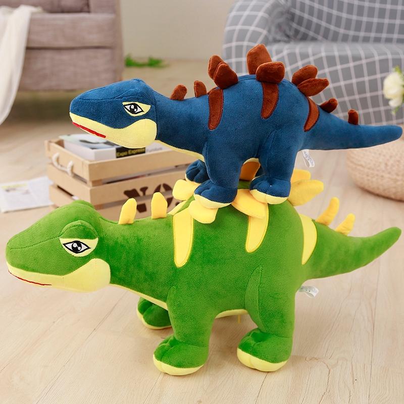 ✷Cute dinosaur plush Toy Sword Dragon Doll Puppet Boy Pillow children's Day girl birthday present