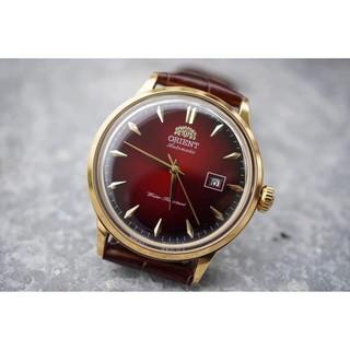 Đồng hồ nam Orie Bambino Gen mặt xanh viền vàng hồng case 40.5mm. 3atm