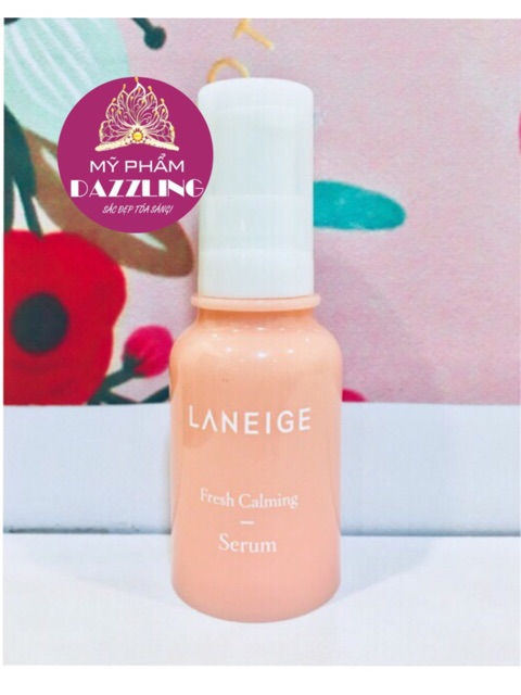 Combo 5 Chai Serum LANEIGE FRESH Calming 9ml