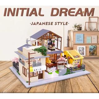 mô hình nhà gỗ nhà phong cách Nhật Bản PC902