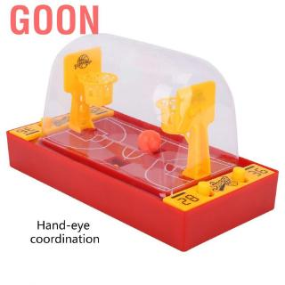 Goon Kids Finger Ball Basketball Football Shooting Game Desktop Family Party Playing Board Toys for Child Boy Gift
