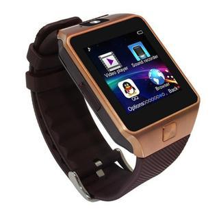 Đồng hồ thông minh Smartwatch DZ09 (Vàng đồng) thumbnail