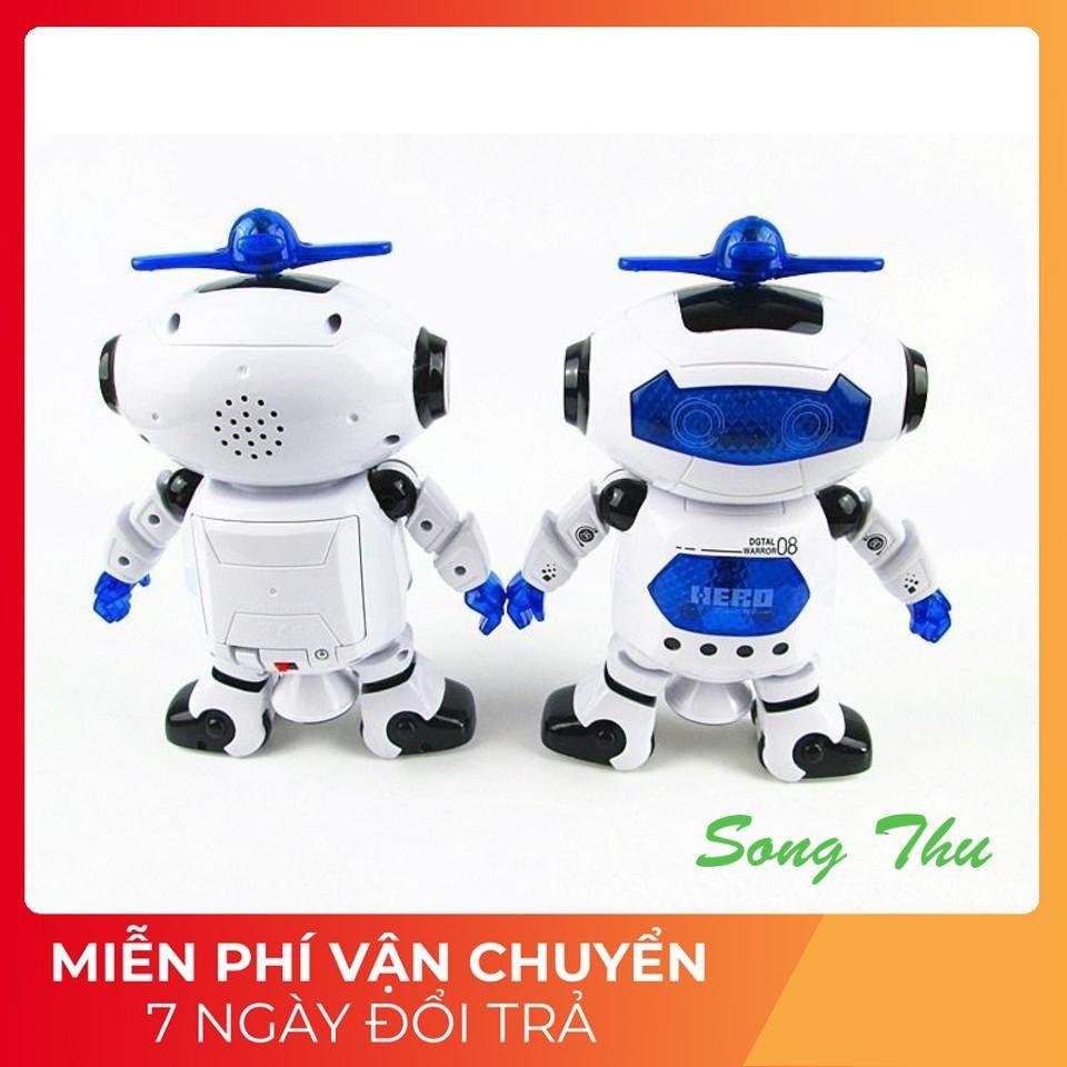 GIÁ HỦY DIỆT] Đồ chơi Robot thông minh nhảy múa hát xoay 360 độ(Nhiều màu)  rẻ vô địch