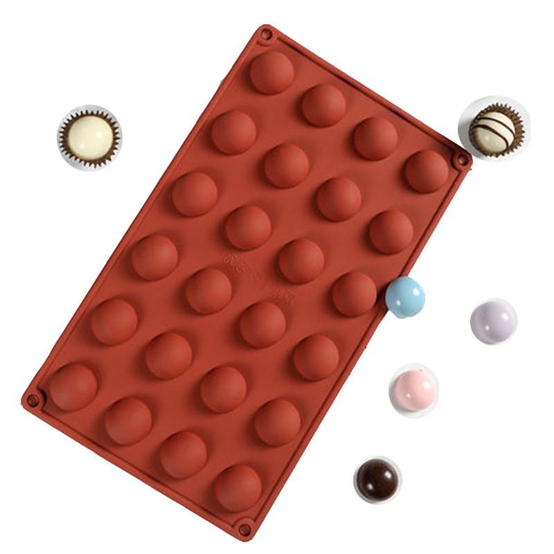 Khuôn ANAEAT có 24 lỗ bằng silicon làm bánh kẹo/Chocolate/Pudding/thạch/đá đa năng tiện dụng