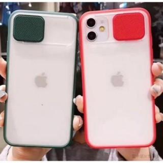 Ốp Iphone NẮP TRƯỢT CHE CAMERA LƯNG NHÁM IPHONE 11 11 PRO 11 PRO MAX - CHÍNH HÃNG KST DESIGN thumbnail