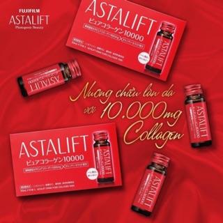 NƯỚC UỐNG COLLAGEN NHẬT BẢN ASTALIFT DRINK PURE COLLAGEN BỔ SUNG 10.000MG thumbnail