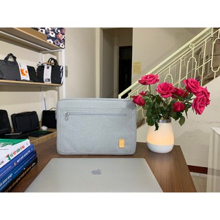 [Cam kết chính hãng] Túi chống sốc WIWU Pioneer cho Macbook/Laptop – 13/14/15 inch (Màu xám)