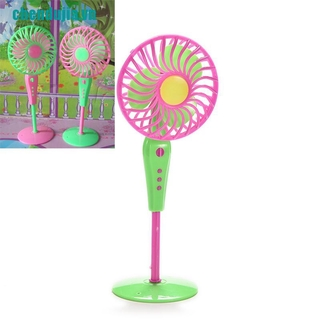 【chendujia】1 X Mini Fan Toys for Barbies Kids Dollhouse Furniture Accessories