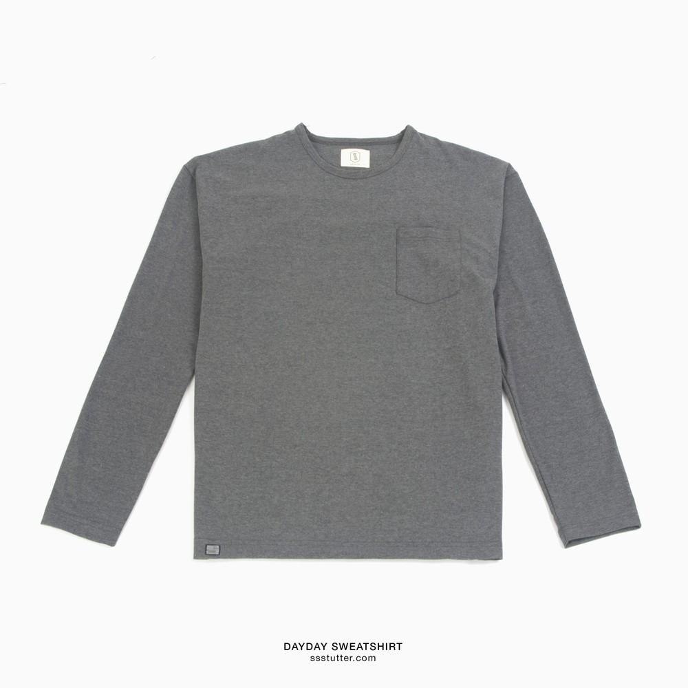 Áo nỉ tay dài SSSTUTTER Dayday Sweatshirt