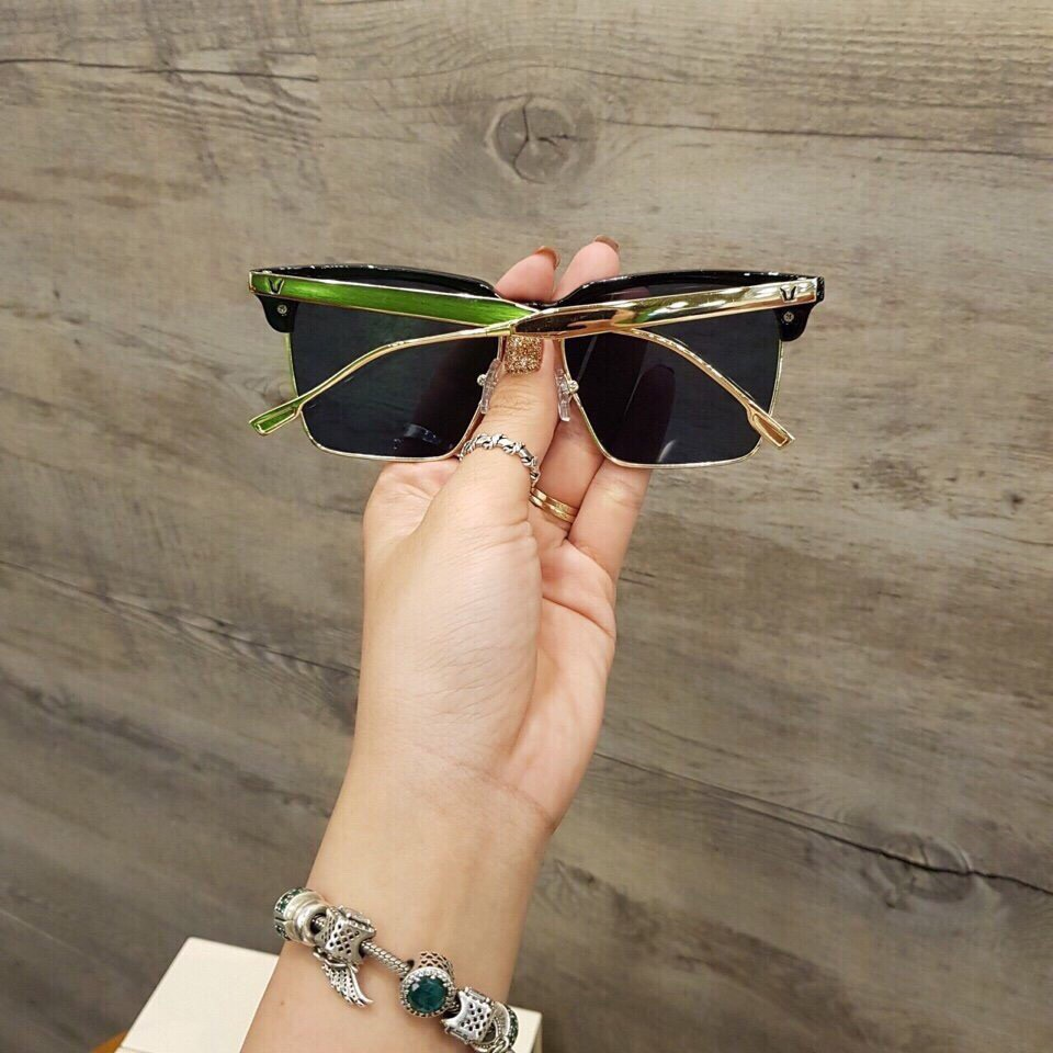 [TẶNG KÈM HỘP] Kính râm nam nữ cao cấp gọng chữ V JJGM930 – Mắt kính chống tia UV, thiết...