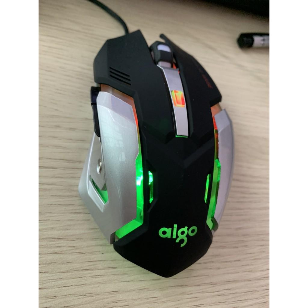[Loại 1] Chuột Game Aigo M901 led Rainbow